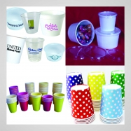 Paper Cup Layout