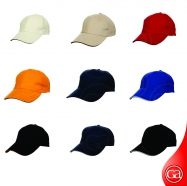 6 Panel Cap - Cotton Brush