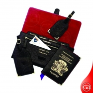 Travel Kit-004 Exclusive Leather Travel Set